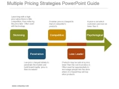 Multiple Pricing Strategies Powerpoint Guide