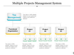 Multiple Projects Management System Ppt PowerPoint Presentation Images