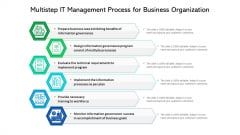 Multistep It Management Process For Business Organization Ppt PowerPoint Presentation Infographics Maker PDF