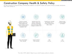 Multitier Project Execution Strategies Construction Company Health And Safety Policy Microsoft PDF