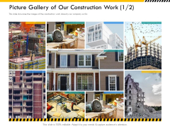 Multitier Project Execution Strategies Picture Gallery Of Our Construction Work Far Diagrams PDF