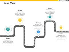 Multitier Project Execution Strategies Road Map Ppt Show Guide PDF
