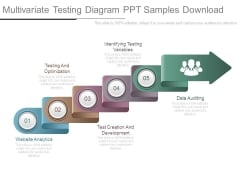 Multivariate Testing Diagram Ppt Samples Download
