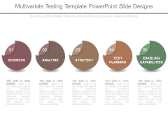 Multivariate Testing Template Powerpoint Slide Designs