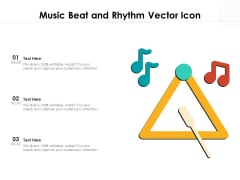 Music Beat And Rhythm Vector Icon Ppt PowerPoint Presentation File Layouts PDF