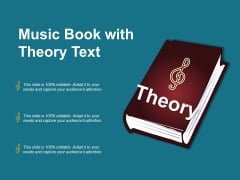 Music Book With Theory Text Ppt PowerPoint Presentation File Guide PDF