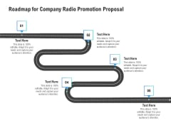 Music Promotion Consultation Roadmap For Company Radio Promotion Proposal Ideas PDF