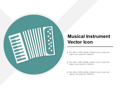 Musical Instrument Vector Icon Ppt Powerpoint Presentation Infographics Backgrounds
