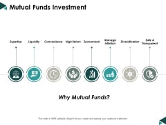 Mutual Funds Investment Ppt Powerpoint Presentation Slides Ideas