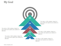My Goal Ppt PowerPoint Presentation Background Image