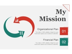 My Mission Ppt PowerPoint Presentation Ideas Aids