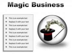 Magic Business Finance PowerPoint Presentation Slides C
