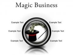 Magic Business Finance PowerPoint Presentation Slides Cc