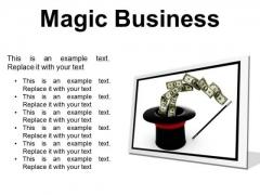 Magic Business Finance PowerPoint Presentation Slides F