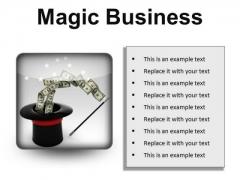 Magic Business Finance PowerPoint Presentation Slides S