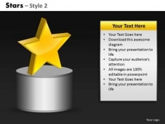 Main Point Stars PowerPoint Slides And Ppt Diagram Templates
