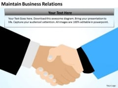 Maintain Business Relations Ppt Financial Planning PowerPoint Templates