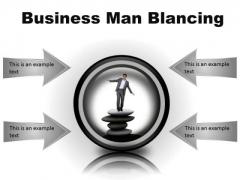 Man Balancing Business PowerPoint Presentation Slides Cc