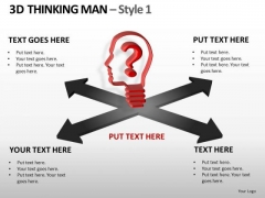 Many Choices Thinking Person Business PowerPoint Templates And Ppt Slides