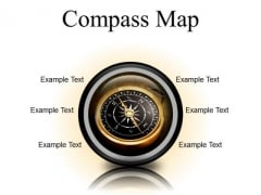 Map Compass Global PowerPoint Presentation Slides Cc