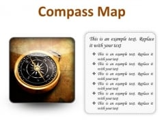 Map Compass Global PowerPoint Presentation Slides S