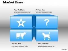 Market Share PowerPoint Presentation Template