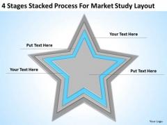 Market Study Layout Ppt Business Plans Non Profit Organizations PowerPoint Slides
