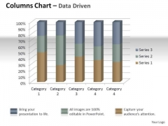 Marketing Data Analysis 3d Quality Control Of Units PowerPoint Templates