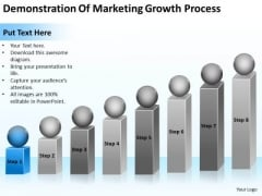 Marketing Growth Process Real Estate Business Plan Examples PowerPoint Templates