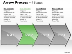 Marketing Ppt Background Arrow Process 4 Stages Project Management PowerPoint 3 Graphic