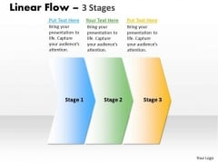 Marketing Ppt Background Non Linear Presentation PowerPoint Flow 3 Phase Diagram Design