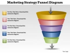 Marketing Strategy Funnel Diagram Cycle Process PowerPoint Templates