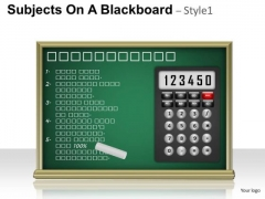 Math Education Calculator PowerPoint Slides And Ppt Template Diagrams
