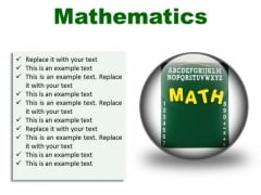 Mathematics Education PowerPoint Presentation Slides C