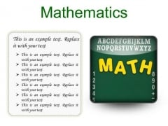 math powerpoint templates slides and graphics