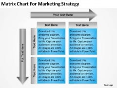 Matrix Chart For Marketing Strategy Ppt Business Proposal Examples PowerPoint Slides