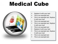 Medical Cube Health PowerPoint Presentation Slides C