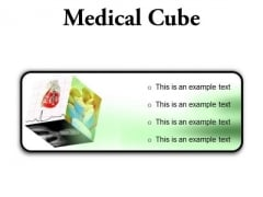 Medical Cube Health PowerPoint Presentation Slides R