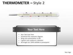 Medical Thermometer PowerPoint Slides And Ppt Graphics