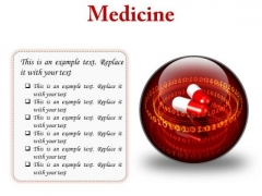 Medicine Science PowerPoint Presentation Slides C