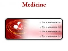 Medicine Science PowerPoint Presentation Slides R