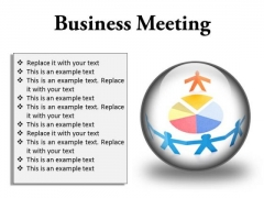 Meeting Business PowerPoint Presentation Slides C