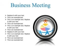 Meeting Business PowerPoint Presentation Slides Cc