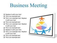 Meeting Business PowerPoint Presentation Slides F