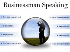 Megaphone Business PowerPoint Presentation Slides C