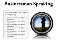 Megaphone Business PowerPoint Presentation Slides Cc