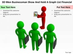 Men At Work Business As Usual Graph List Financial PowerPoint Templates Ppt Backgrounds For Slides
