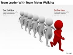 Men At Work Business As Usual With Mates Walking PowerPoint Templates Ppt Backgrounds For Slides