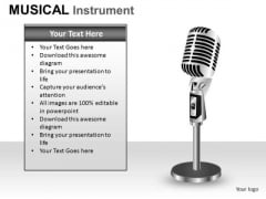 Microphone PowerPoint Slides And Ppt Diagram Templates