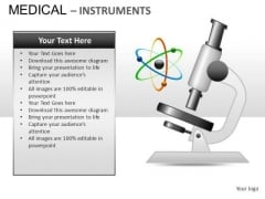 Microscope Medical Instrument PowerPoint Slides And Ppt Diagram Templates